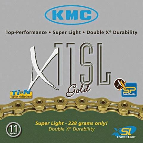 Lánc KMC X11 SL GOLD