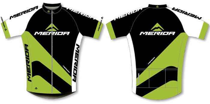 Mez MERIDA 2014 rövid 44 S zöld fekete végig zipzár - Sport1