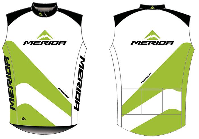 Mez MERIDA 2014 rövid 44 S fehér fekete/zöld végig zipzár - Sport1