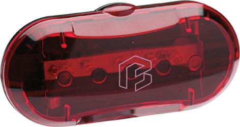 Lámpa BIKEFUN BLAZE hátsó 5 piros LED 2 funkció