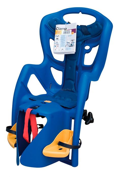 Gyermekülés BIKEFUN PEPPE B-FIX hátsó kék