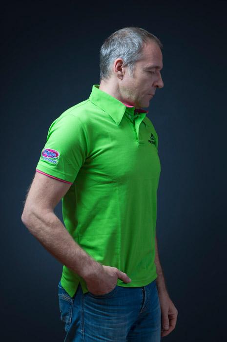 Polo MERIDA 2015 rövid gallér S Logo Edition zöld