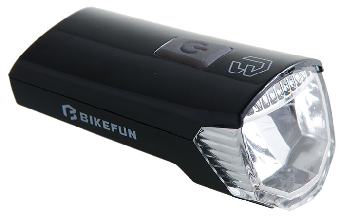Lámpa BIKEFUN RAY első 1 LED USB