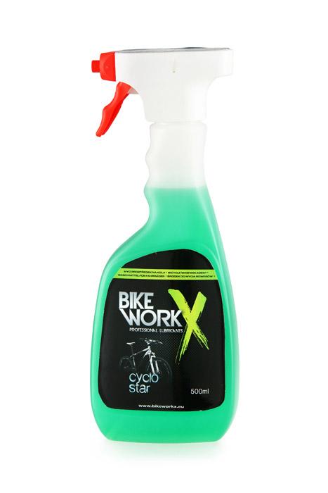 BikeWorkx CYKLO STAR Tisztítószer hab Spray 500 ml
