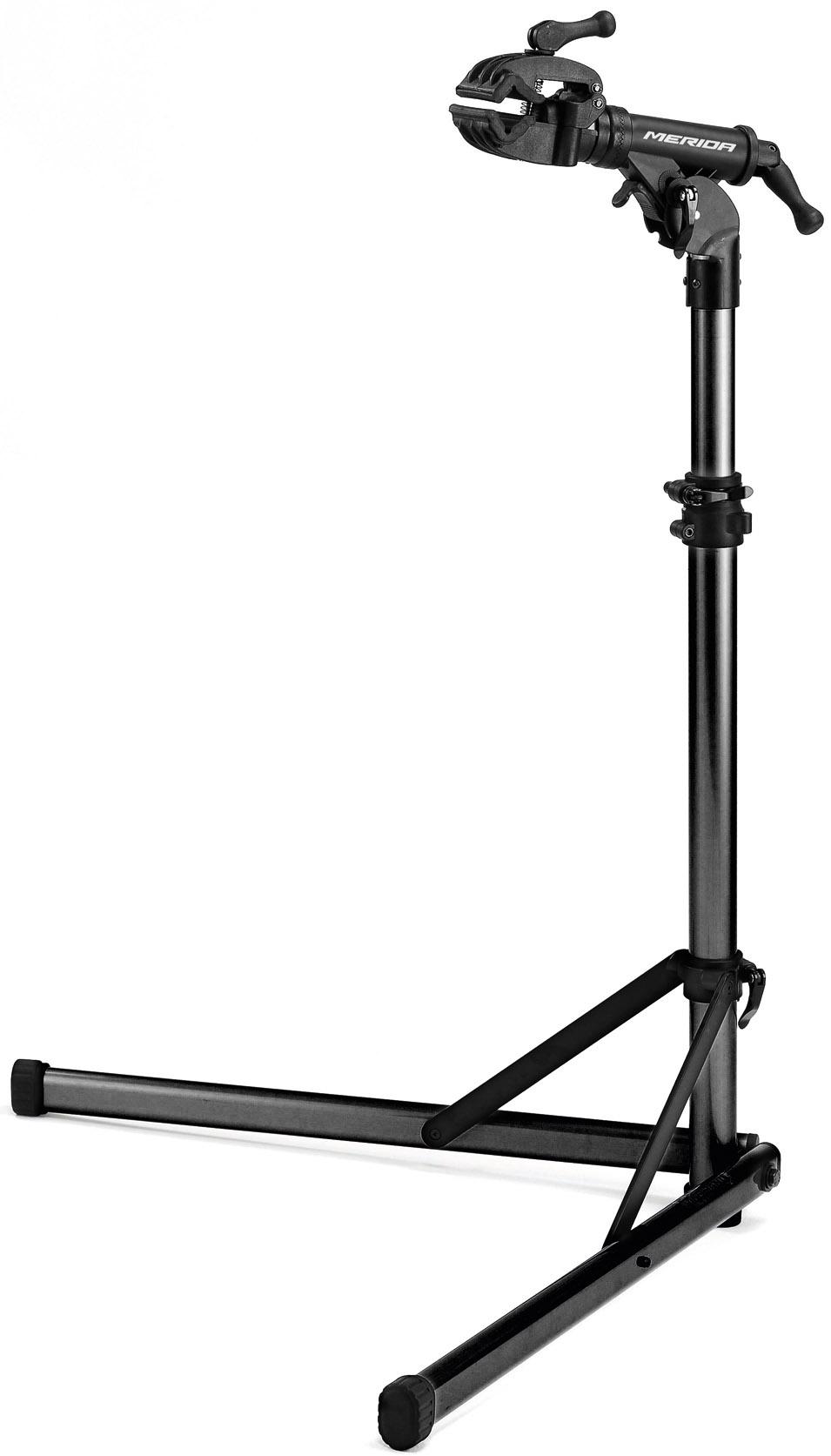 Kerékpártartó MERIDA szerelőállvány álló, alu, fekete - 4186