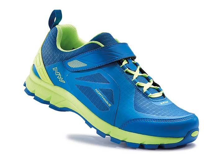 Cipő NORTHWAVE ALL TERRAIN ESCAPE EVO kék-lime (új modell)