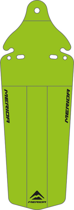 Sárvédő MERIDA nyereg alá zöld - 3607