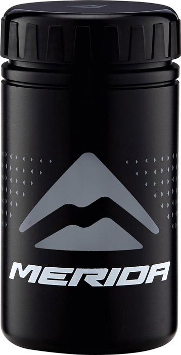 Kulacs MERIDA szerszámos fekete S 14cm magas, 52g - 3651