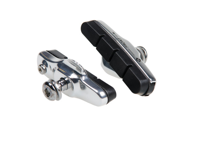 Fékpofa BIKEFUN 53mm menetes ezüst cartridge