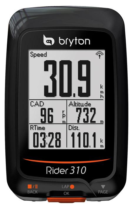 Computer BRYTON RIDER 310T GPS szett (+HRM + CAD)