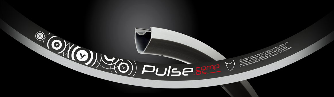 Abroncs RYDE PULSE COMP SYM 622 mm, 32 h