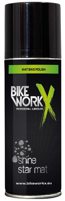 Tisztítószer BIKEWORKX SHINE STAR MAT Spray 200 ml