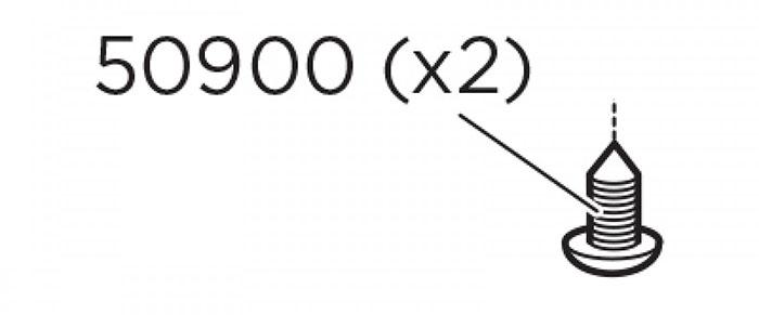 Thule KIEGÉSZÍTŐ csavar M6x22 HO972 X970