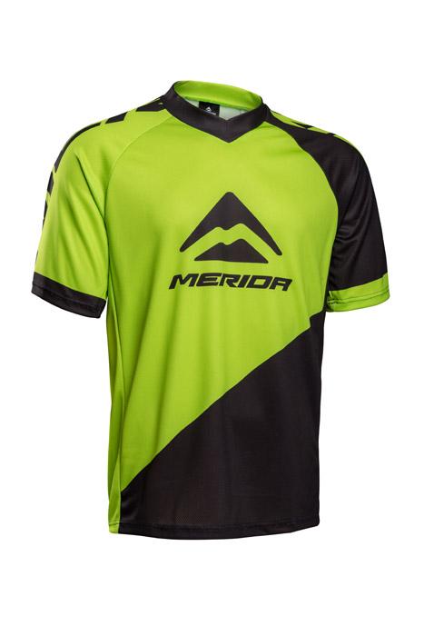 Mez MERIDA F196GR rövid zöld/fekete V-nyakú Freeride/Enduro