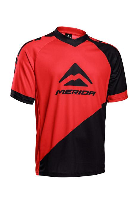 Mez MERIDA rövid F196 XXL piros fekete V Freeride Enduro