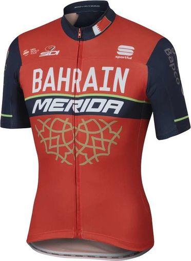 Mez BAHRAIN-MERIDA rövid Team XL Bodyfit