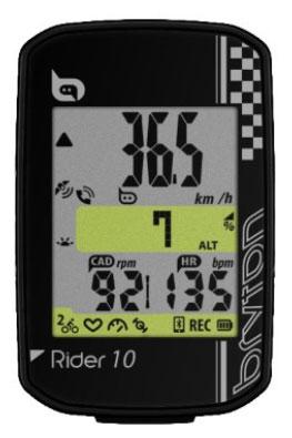 Computer BRYTON RIDER 10E GPS komputer