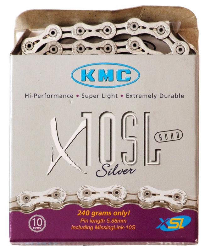 Lánc KMC X10SL ezüst