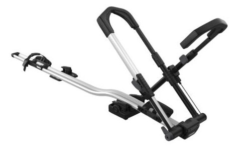 Kerékpárszállító THULE UPRIDE 599 tetőre, keréktartós