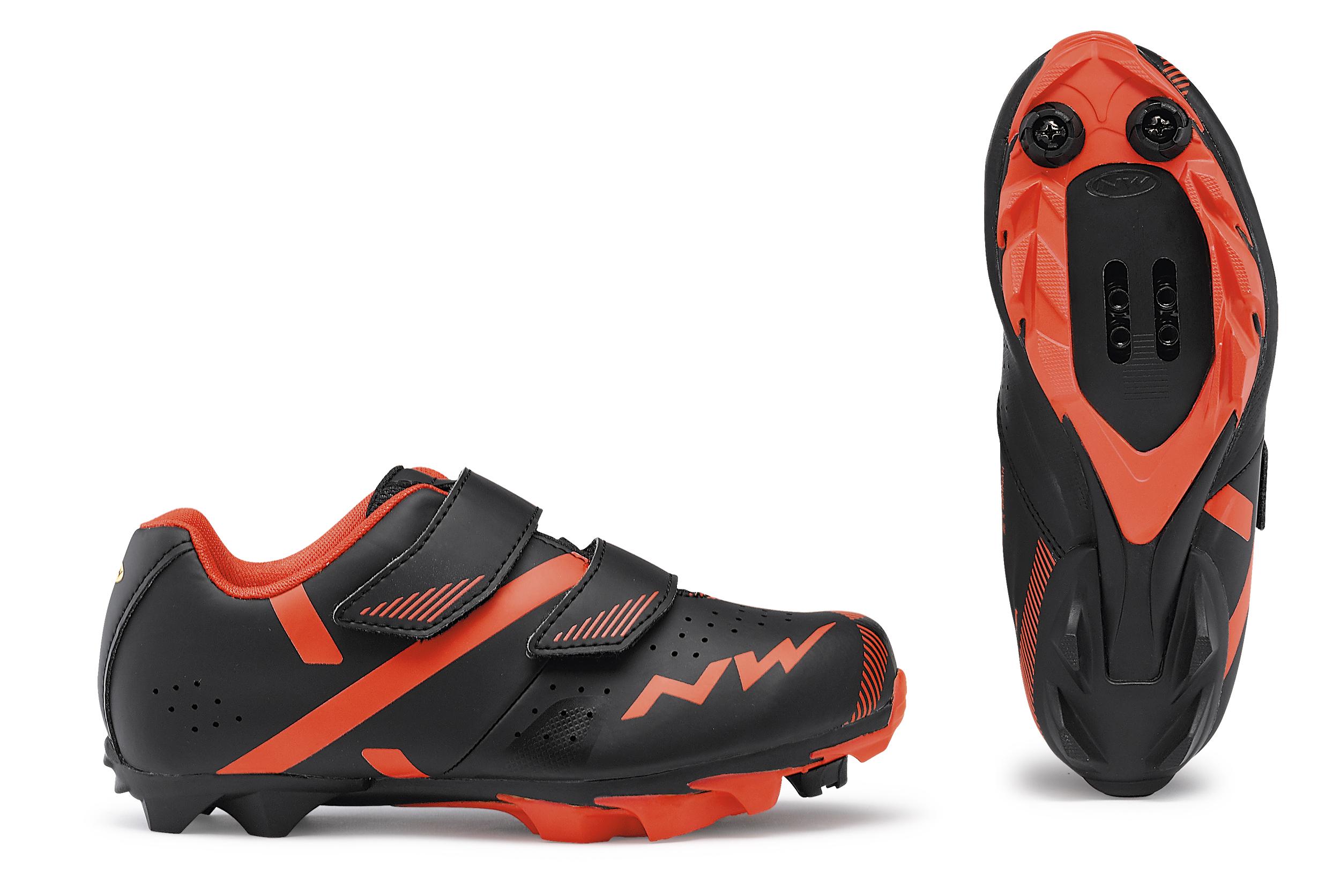 Cipő NORTHWAVE MTB HAMMER 2 JUNIOR 32 fekete/piros