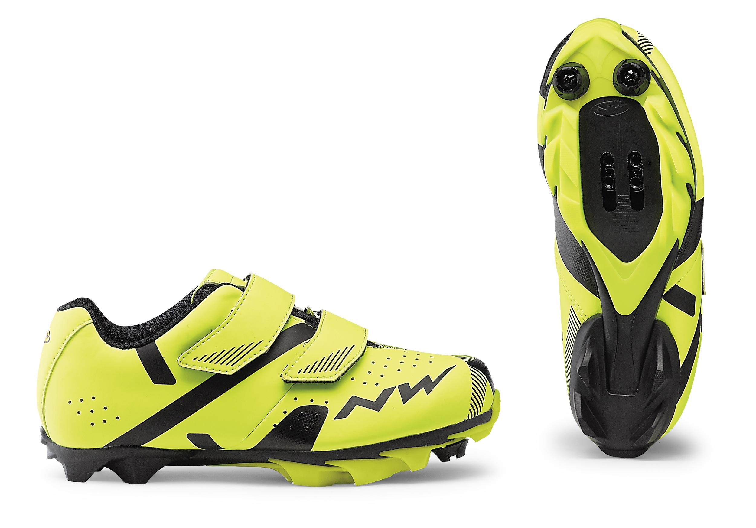 Cipő NORTHWAVE MTB HAMMER 2 JUNIOR 34 fluo sárga-fekete