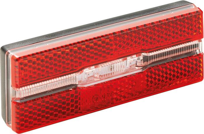 Lámpa BIKEFUN BLOCK hátsó csomagtartóra - JY-6500A