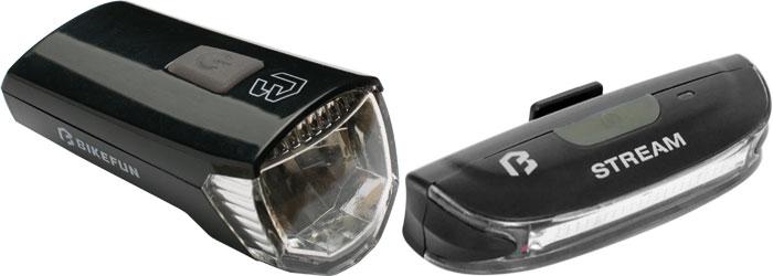 Lámpa BIKEFUN RAY II. szett - JY-7017+JY6018T