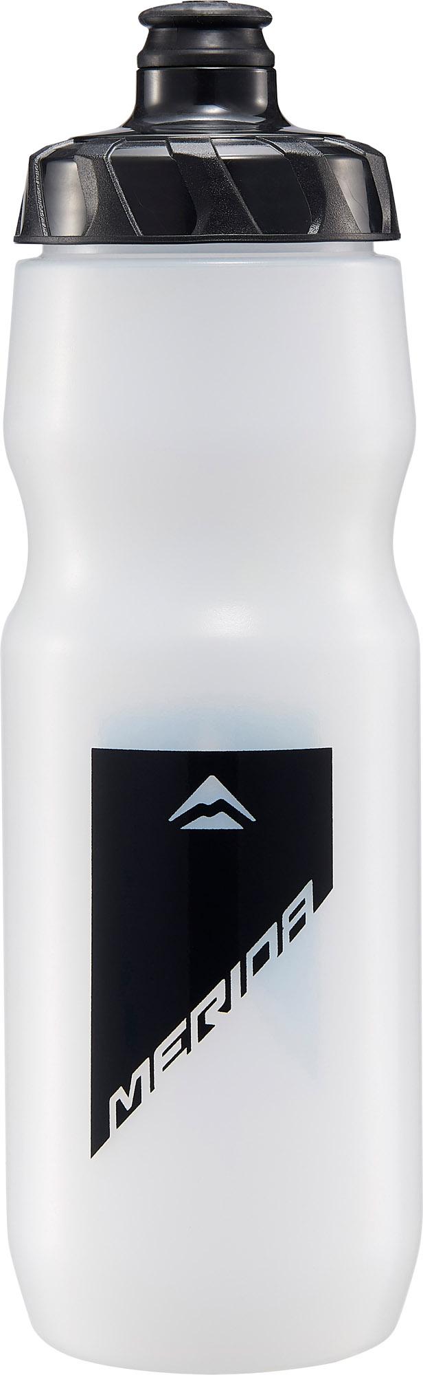 Kulacs MERIDA átlátszó, 800ml (fekete design) - zárókupakkal - 4070