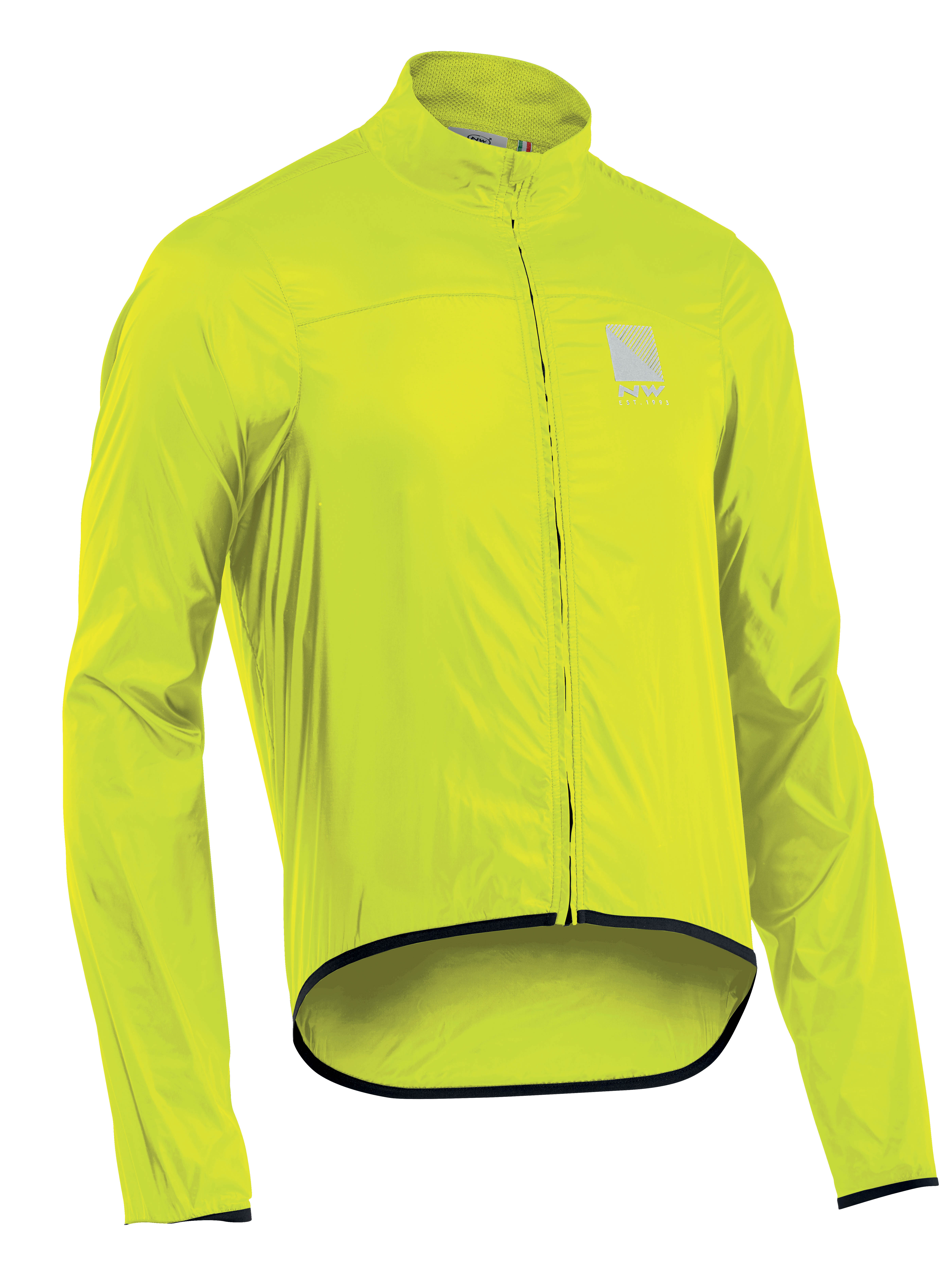 Dzseki NORTHWAVE eső BREEZE 2 3XL fluo sárga