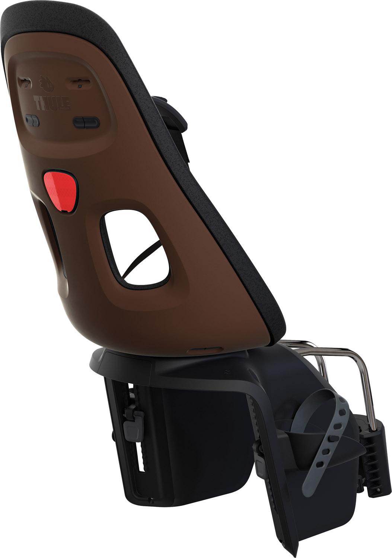 Gyerekülés THULE YEPP NEXXT MAXI hátsó csokibarna (Nyeregvázcsőre rögzíthető)