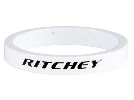 Kormánycsapágy hézagoló RITCHEY Fehér 5mm 1-1/8 (10/csomag)