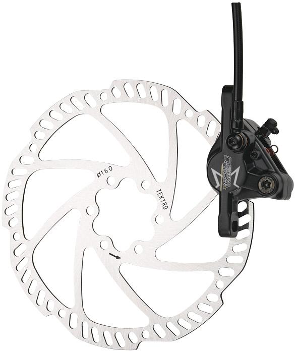 Tárcsafék TEKTRO ORION első 180 mm rotor fekete