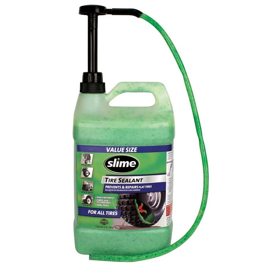 Defektgátló folyadék SLIME tubeless 3,8 l pumpás adagolóval.