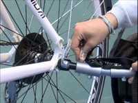 Utánfutó adapter B-Taxihoz felnőtt kerékpárra