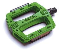 Pedál BIKEFUN DECK platform műanyag zöld - B107N-GRN/BF
