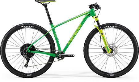 VÁZ MERIDA 2018 BIG.NINE LIMITED EDITION ZÖLD
