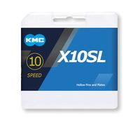 Lánc KMC X10SL ezüst 1/2x1/128 112L