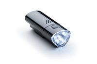 Lámpa BIKEFUN LINK első 5 fehér LED, 2 funkció, fekete - JY-369B