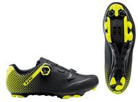 Cipő NORTHWAVE MTB ORIGIN PLUS 2 39,5 fekete/fluo sárga